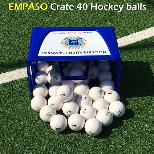 EMPASO Crate 40 hockey balls