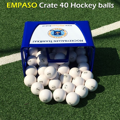 EMPASO Crate 40 hockey balls